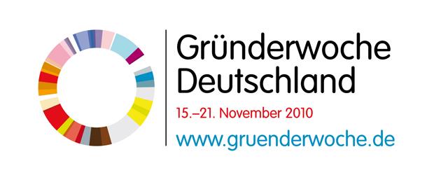 Logo Gründerwoche Deutschland